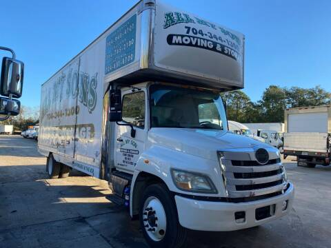 2011 Hino 268 for sale at DEBARY TRUCK SALES in Sanford FL