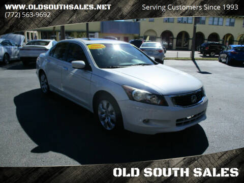 2008 Honda Accord for sale at OLD SOUTH SALES in Vero Beach FL