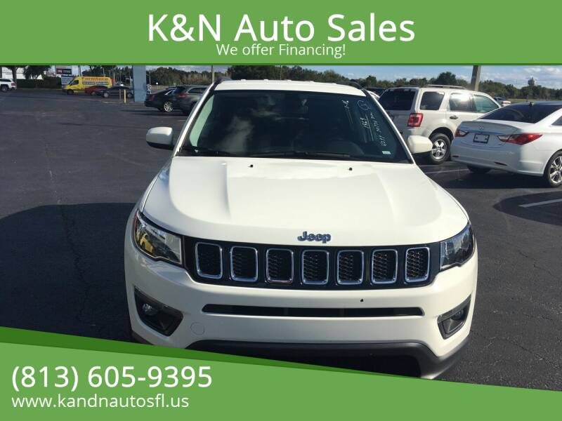 2019 Jeep Compass for sale at K&N Auto Sales in Tampa FL