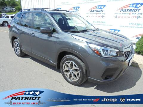 2020 Subaru Forester for sale at PATRIOT CHRYSLER DODGE JEEP RAM in Oakland MD