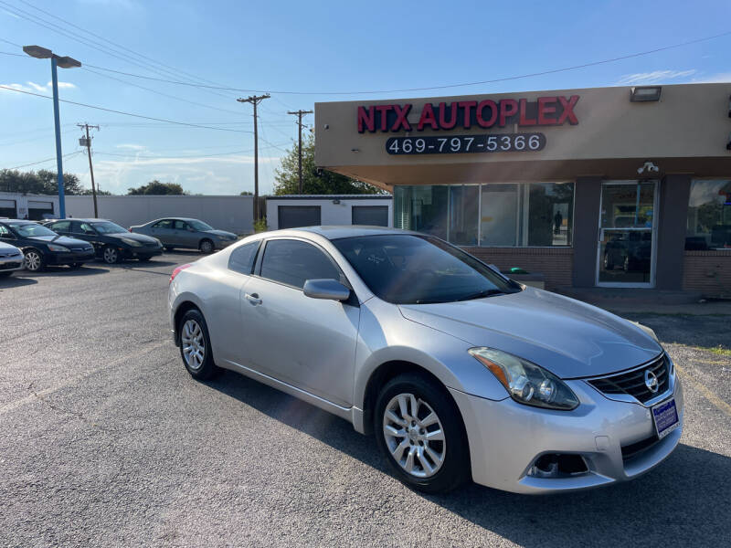 2010 Nissan Altima for sale at NTX Autoplex in Garland TX