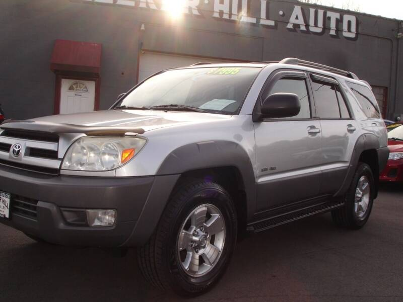 2003 Toyota 4Runner for sale at Meeker Hill Auto Sales in Germantown WI