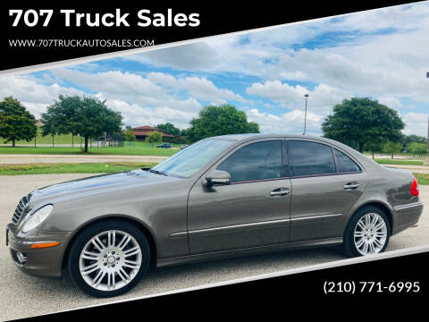 2008 Mercedes-Benz E-Class for sale at 707 Truck Sales in San Antonio TX