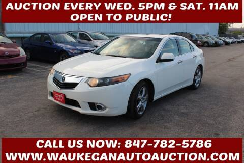 2011 Acura TSX for sale at Waukegan Auto Auction in Waukegan IL