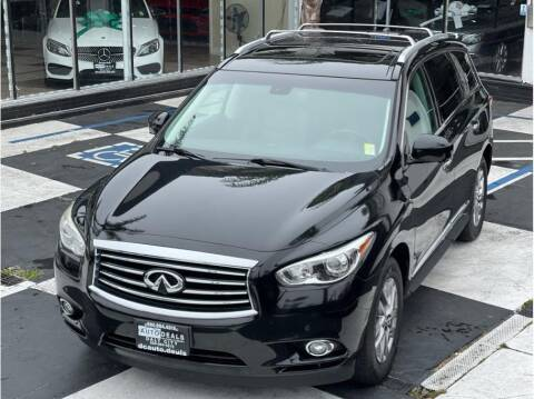 2014 Infiniti QX60 for sale at AutoDeals in Daly City CA