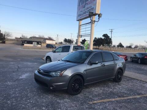 2010 Ford Focus for sale at Patriot Auto Sales in Lawton OK