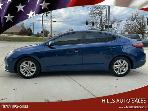 2020 Hyundai Elantra for sale at Hills Auto Sales in Salem AR