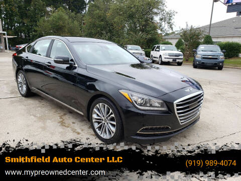 2017 Genesis G80 for sale at Smithfield Auto Center LLC in Smithfield NC