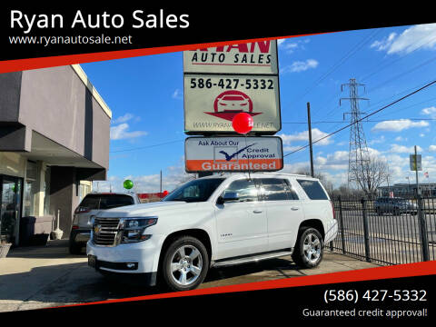 2015 Chevrolet Tahoe for sale at Ryan Auto Sales in Warren MI