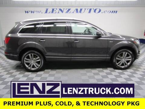 2015 Audi Q7 for sale at LENZ TRUCK CENTER in Fond Du Lac WI