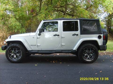 2011 Jeep Wrangler Unlimited for sale at Northport Motors LLC in New London WI