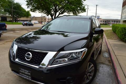 2014 Nissan Pathfinder for sale at E-Auto Groups in Dallas TX