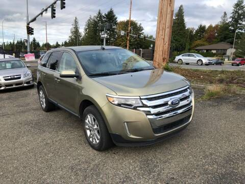 2013 Ford Edge for sale at KARMA AUTO SALES in Federal Way WA