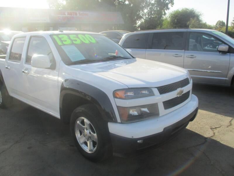 2011 Chevrolet Colorado for sale at Quick Auto Sales in Modesto CA