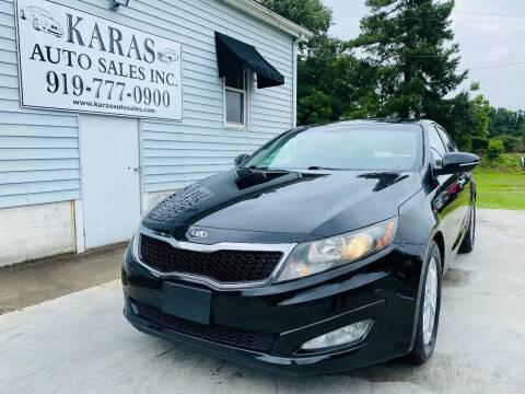 2013 Kia Optima for sale at Karas Auto Sales Inc. in Sanford NC