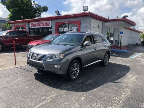2013 Lexus RX 350 for sale at CARSTRADA in Hollywood FL