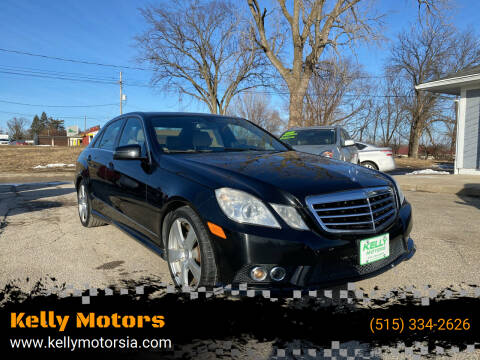 2010 Mercedes-Benz E-Class for sale at Kelly Motors in Johnston IA