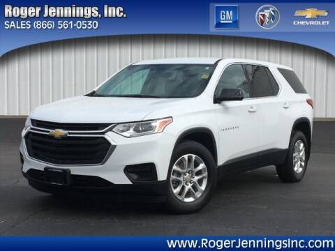 2018 Chevrolet Traverse for sale at ROGER JENNINGS INC in Hillsboro IL