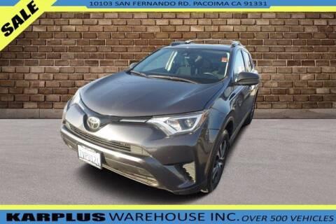 2017 Toyota RAV4 for sale at Karplus Warehouse in Pacoima CA
