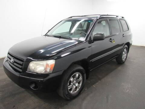 2005 Toyota Highlander for sale at Automotive Connection in Fairfield OH