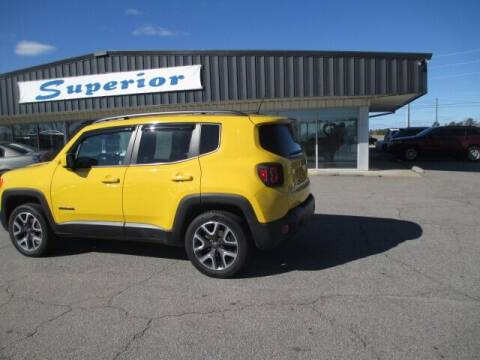 2015 Jeep Renegade for sale at SUPERIOR CHRYSLER DODGE JEEP RAM FIAT in Henderson NC