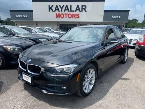 2016 BMW 3 Series for sale at KAYALAR MOTORS in Houston TX