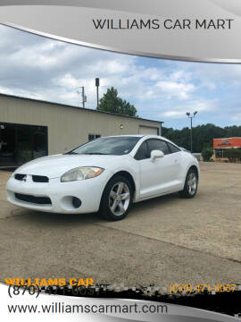 2008 Mitsubishi Eclipse for sale at WILLIAMS CAR MART in Gassville AR
