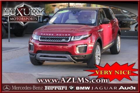 2017 Land Rover Range Rover Evoque for sale at Luxury Motorsports in Phoenix AZ