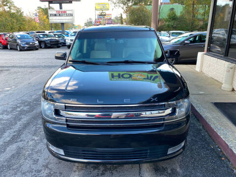 2014 Ford Flex for sale at J Franklin Auto Sales in Macon GA