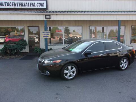 2012 Acura TSX for sale at PJ's Auto Center in Salem OR