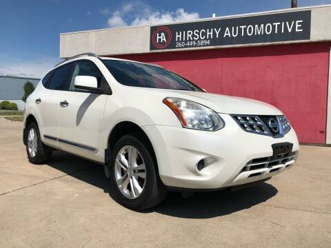 2012 Nissan Rogue for sale at Hirschy Automotive in Fort Wayne IN