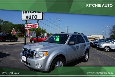 2011 Ford Escape for sale at Ritchie Auto in Appleton WI
