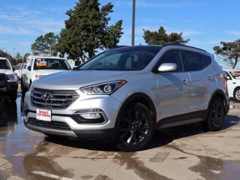 2017 Hyundai Santa Fe Sport for sale at Bryans Car Corner in Chickasha OK