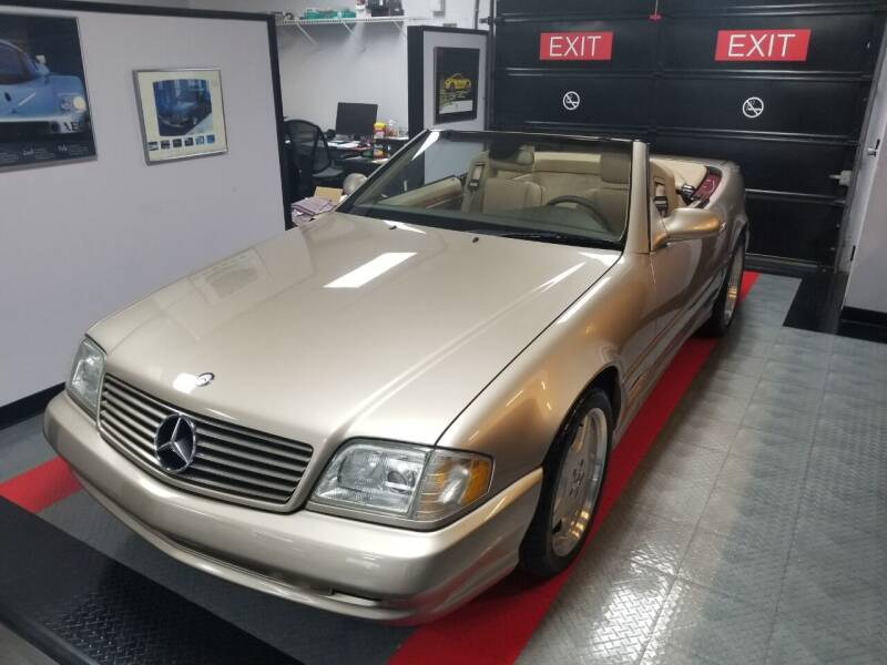 2002 Mercedes-Benz SL-Class for sale at Encore Motors in Macon GA