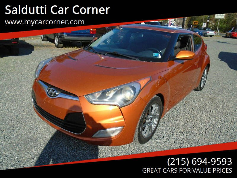 2012 Hyundai Veloster for sale at Saldutti Car Corner in Gilbertsville PA
