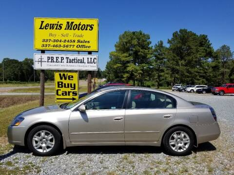 2006 Nissan Altima for sale at Lewis Motors LLC in Deridder LA