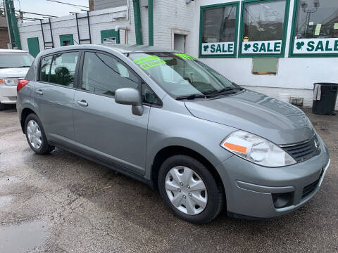 2007 Nissan Versa for sale at Barnes Auto Group in Chicago IL