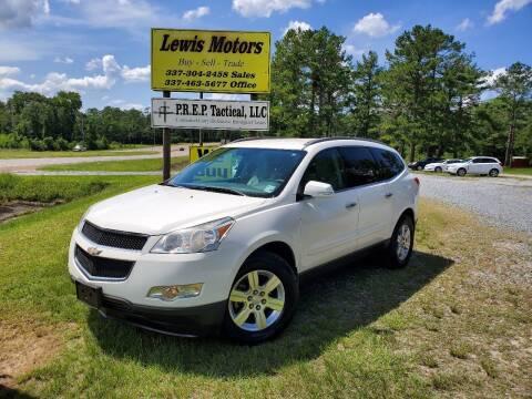 2012 Chevrolet Traverse for sale at Lewis Motors LLC in Deridder LA