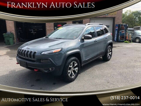 2014 Jeep Cherokee for sale at Franklyn Auto Sales in Cohoes NY