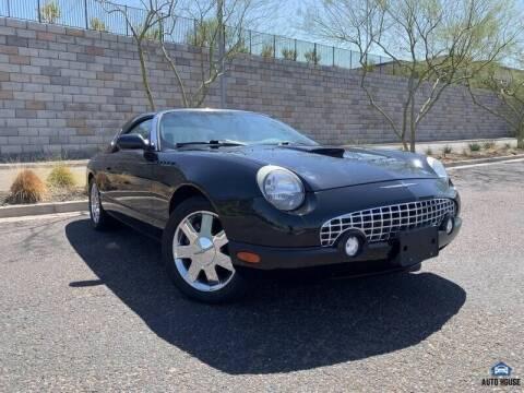 2002 Ford Thunderbird for sale at MyAutoJack.com @ Auto House in Tempe AZ