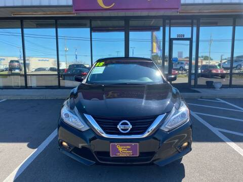 2018 Nissan Altima for sale at Greenville Motor Company in Greenville NC