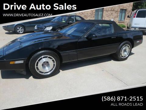 1987 Chevrolet Corvette for sale at Drive Auto Sales in Roseville MI