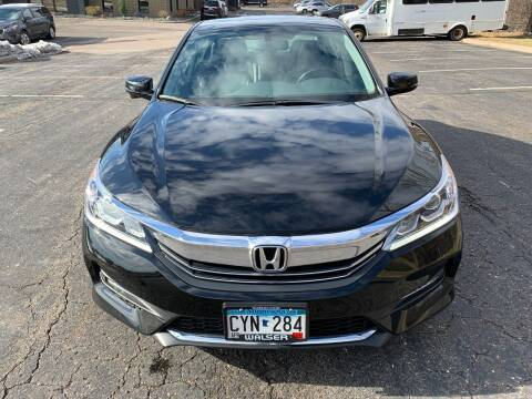 2016 Honda Accord for sale at SYNERGY MOTOR CAR CO in Maplewood MN