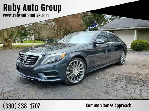 2015 Mercedes-Benz S-Class for sale at Ruby Auto Group in Hudson OH