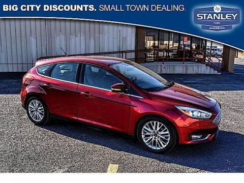 2016 Ford Focus for sale at STANLEY FORD ANDREWS in Andrews TX