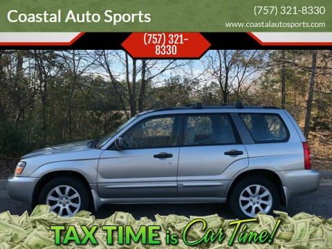 2005 Subaru Forester for sale at Coastal Auto Sports in Chesapeake VA