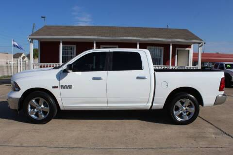 2016 RAM Ram Pickup 1500 for sale at AMT AUTO SALES LLC in Houston TX