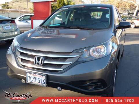 2014 Honda CR-V for sale at McCarthy Wholesale in San Luis Obispo CA