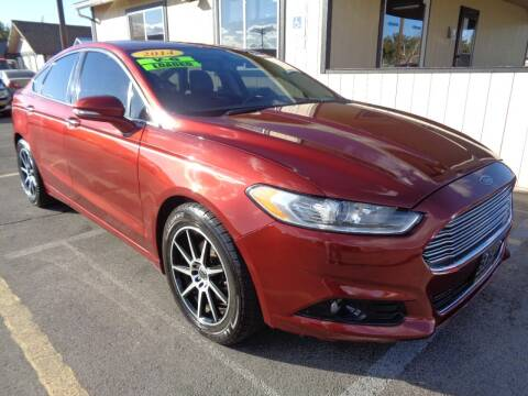2014 Ford Fusion for sale at BBL Auto Sales in Yakima WA