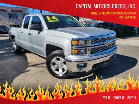 2014 Chevrolet Silverado 1500 for sale at Capital Motors Credit, Inc. in Chicago IL